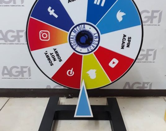 Social Media Academy Table Tap Roleta