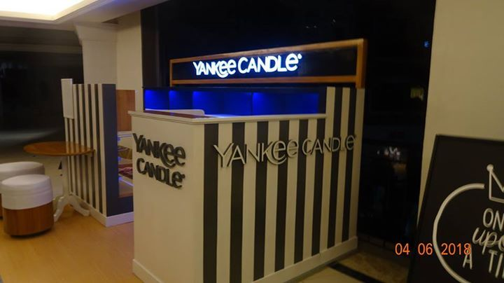 Yankee Candle Kiosk Evia Mall, Alabang Branch